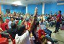 Trabajadores aprobaron en asamblea uso de predio para construcción de sede social